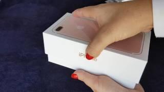 Enfim chegou o meu tão esperado iPhone 7 plus Ouro Rosa /Rosê