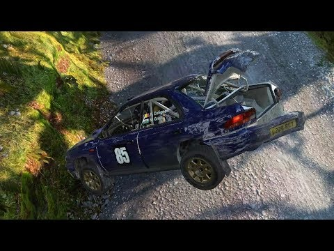 Dirt 4 crashes