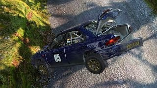 Dirt 4 crashes 1