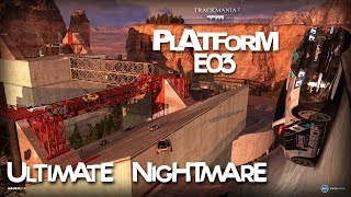 trackmania 2 Canyon Platform E03 - Ultimate Nightmare by Kolodrubsky Roman