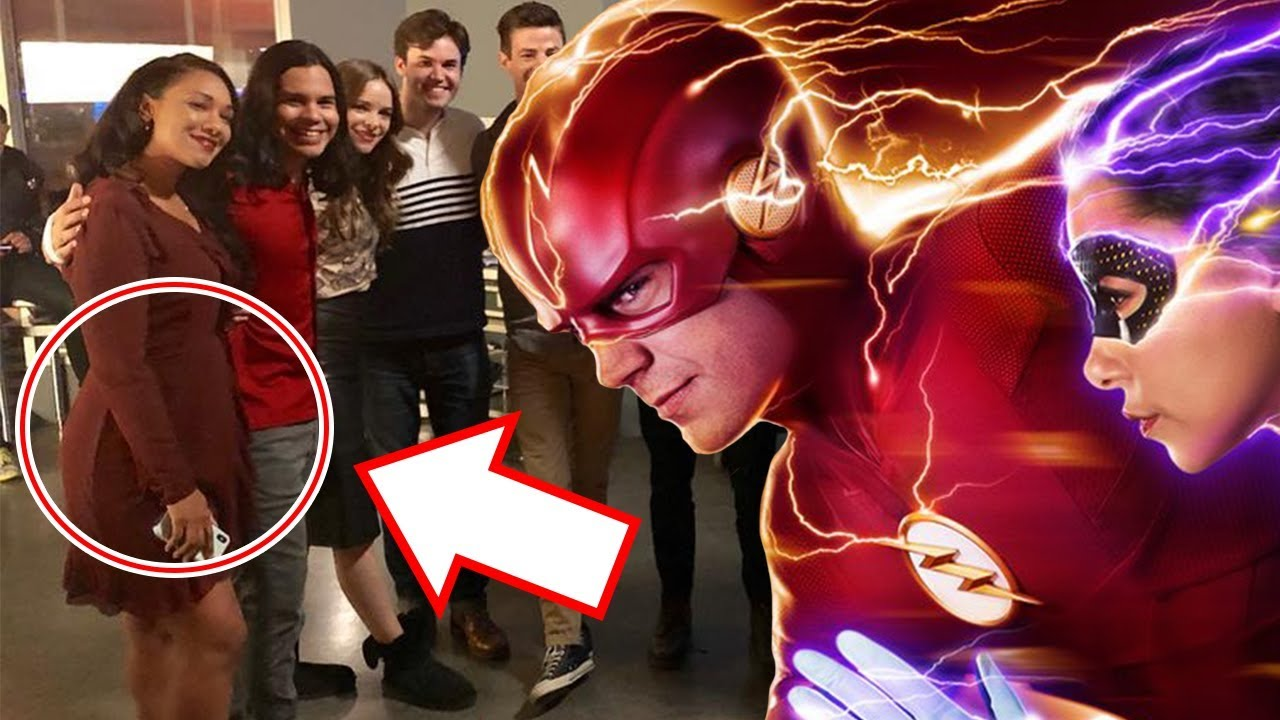 WTF? Is Iris West Pregnant in The Flash Season 5?!