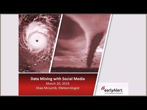 Emergency Management Social Media Data Mining