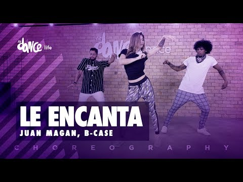 Le Encanta – Juan Magan, B-Case | FitDance Life (Coreografía) Dance Video