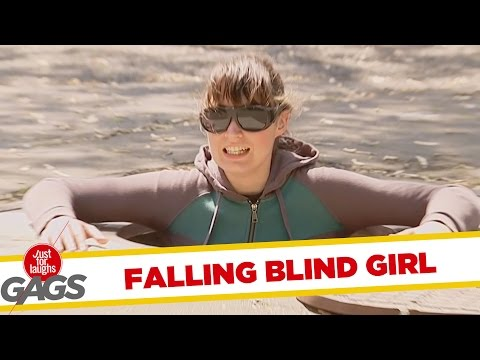 Blind Woman Falls in the Sewers