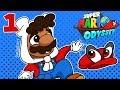 BasicallyIPlay: Super Mario Odyssey #1 Cascade Kingdom!