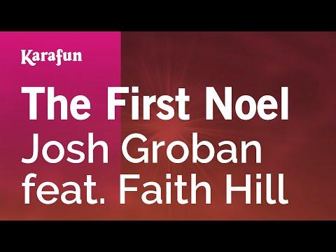 Karaoke The First Noel - Josh Groban *