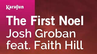 Karaoke The First Noel - Josh Groban *