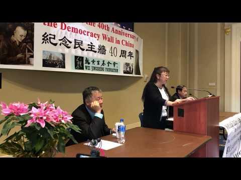 中国海外民主联席会议15届会议/民主墙40周年纪念大会现场直播