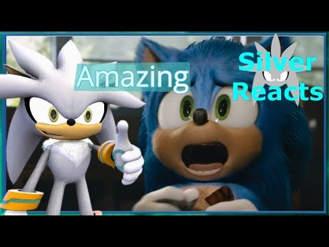 Silver Reacts To Sonic The Hedgehog The Movie Trailer #2