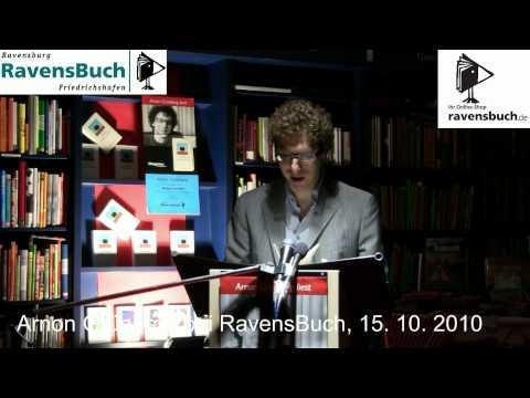 """Arnon Grünberg: Lesung aus """"Mitgenommen"""""""