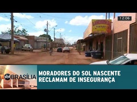 Moradores de Sol Nascente reclamam de falta de segurança
