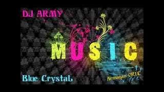 dj army blue crystal