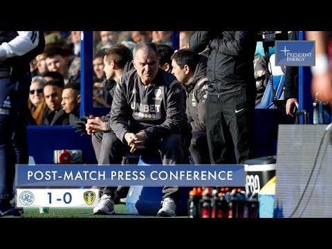 Marcelo Bielsa Reaction   QPR 1-0 Leeds United   EFL Championship