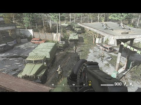 SAS Ambush Ultranationalist Commander - Call of Duty Modern Warfare Remastered |