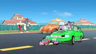 Tom And Jerry Race ,Cars Speed Lightning Games Play For Kids Cartoon For Kids