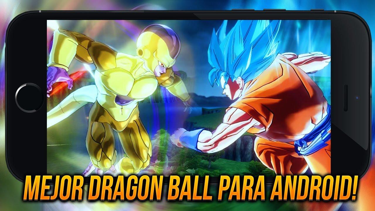 Descarga El Mejor Juego De Dragon Ball Para Android Sin Emulador