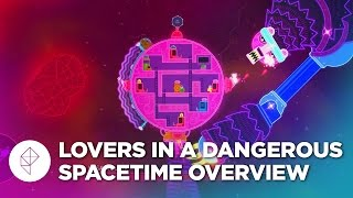 Lovers in a Dangerous Spacetime - Gameplay Overview