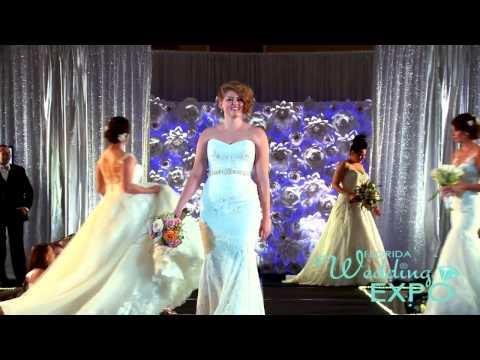 FLORIDA WEDDING EXPO FASHION SHOW - BRIDAL GALLERY
