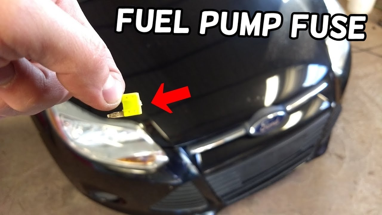 fuel pump fuse location and replacement ford focus mk3. Black Bedroom Furniture Sets. Home Design Ideas