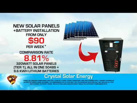 SOLAR BATTERY STORAGE SYSTEMS - CRYSTAL SOLAR ENERGY