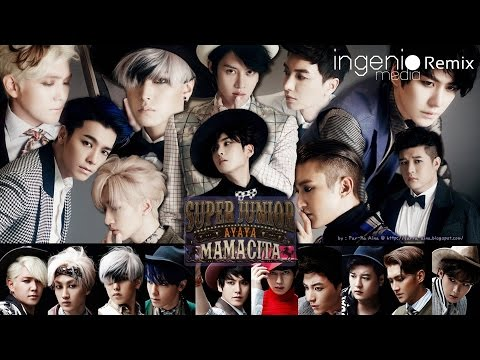 Super Junior 슈퍼주니어 Mamacita Jonathan Carey Bootleg Remix INGENIOmedia
