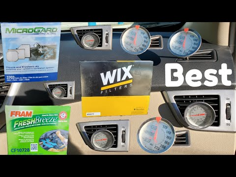 Best Cabin Air Filter!! (proof)