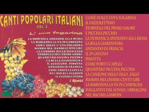 Canti Popolari Italiani - Vol.  2
