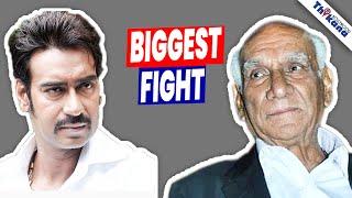 Bollywood Biggest Fight      Ajay   Yash Chopra