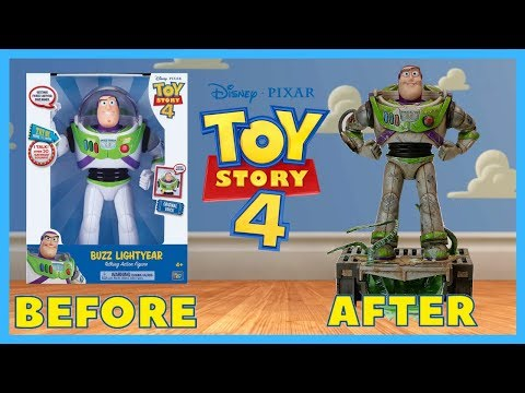 Buzz Lightyear Figure Makeover- Chris' Custom Collectables!