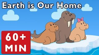 Earth Is Our Home and More | Nursery Rhymes from Mother Goose Club!