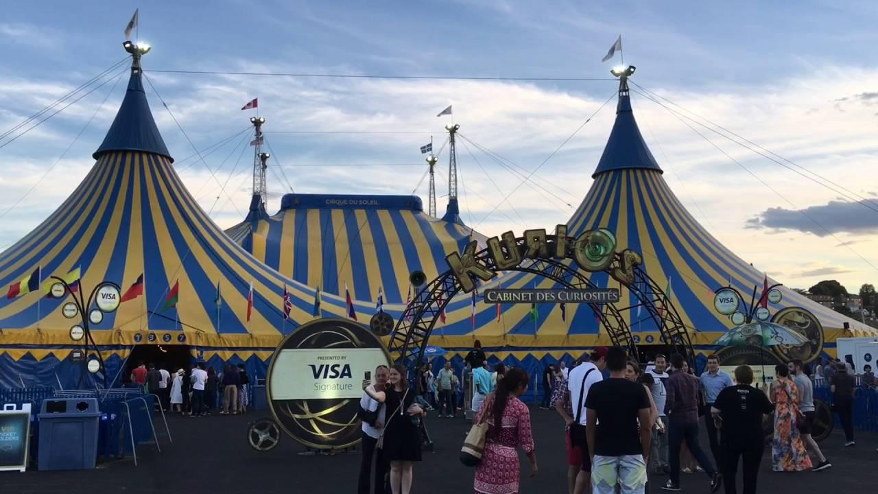 Cirque du Soleil (KURIOS - Cabinet of Curiosities) - BOSTON (USA ...
