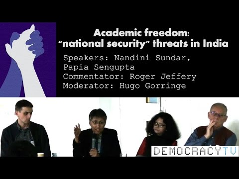India : Academic freedom 'National Security' threats in India