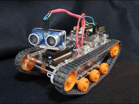 N 176 6 Fabriquer Un Robot De A 224 Z Capteur 224 Ultrason Lcd