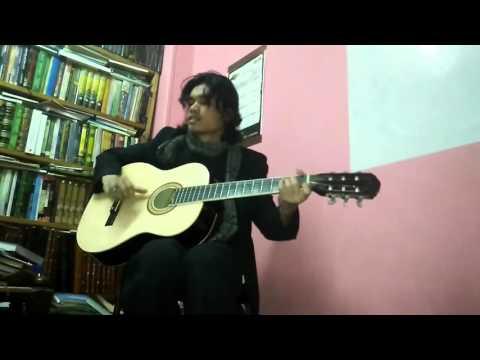 Bila Tiba (Ost. Sang Kiai) - By : Almuttaqien Matondang ( Guitar Cover )