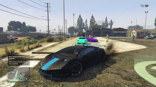 Gta 5 Car show with Viral!