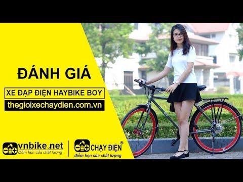 Đánh giá xe đạp điện Haybike Boy