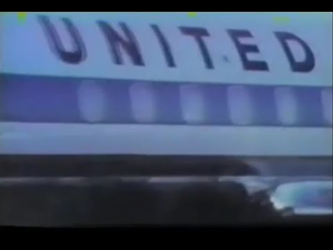 1970 United Airlines Hawaii Commercial