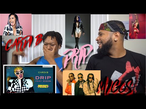 ALBUM OF THE YEAR COMING !?!? Cardi B - Drip ft. Migos | REACTION