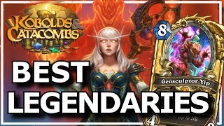 Hearthstone - Best of Kobolds & Catacombs Legendaries