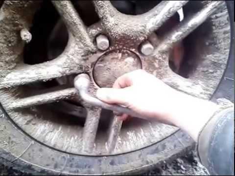 """Правильная затяжка колёс на """"Ниве""""."""