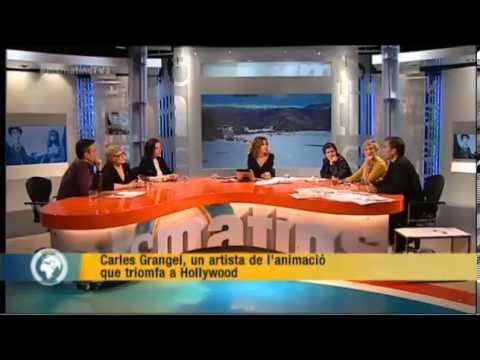 Carles Grangel interview Els matins TV3