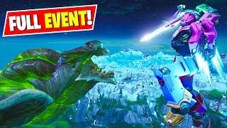 *NEW* Fortnite Robot vs Monster Event Replay! - SEASON 9 FULL EVENT (No Commentary)