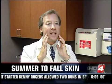 Dr. Steven Grekin talks about Olivella Skincare Line on Local First News Today TV