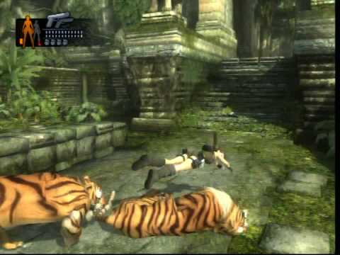 Tomb Raider Underworld Having Fun With The Tigers Youtube