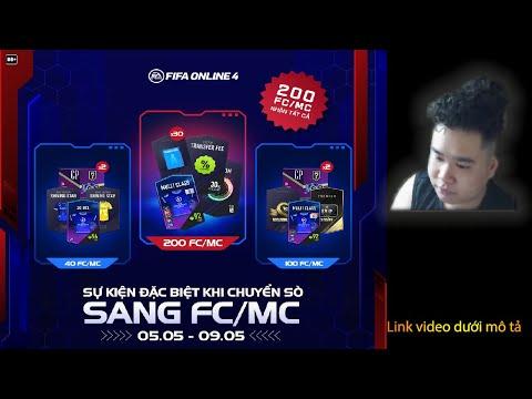 REVIEW, HƯỚNG DẪN SỰ KIỆN CHUYỂN SÒ SANG FC, MC ĐẶC BIỆT THÁNG 5 | SHOPFIFAVN.COM