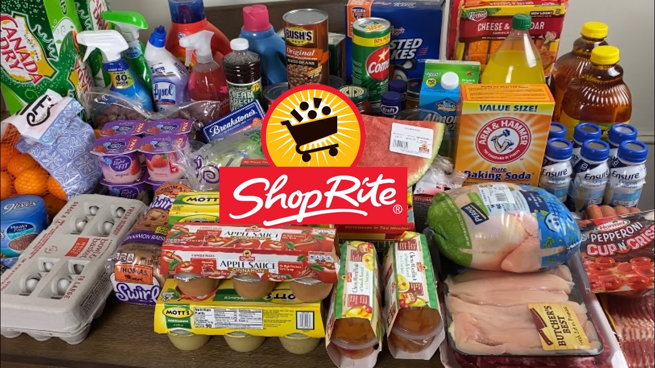 Download SHOP WITH US AT SHOPRITE | HUGE GROCERY SHOPPING