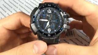 Спортивные часы Casio G-SHOCK GW-A1100FC-1A - видео обзоры от PresidentWatches.Ru(В видео разбираются функции и характеристики сверхпопулярных наручных часов Casio G-SHOCK GW-A1100FC-1A Купить часы..., 2014-05-19T07:49:13.000Z)