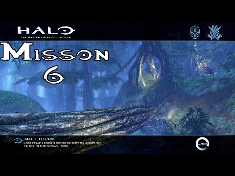 Halo Ce Anniversary - 343 Guilty Spark - Mission 6 (1080p60fps) Xbox One MCC