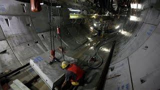 Terowongan MRT Jakarta 360 Derajat