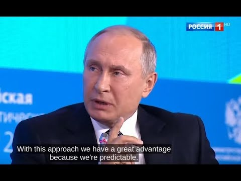 Putin: What is Russia's main advantage? We never play a double game with other countries